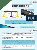 10 Predimensionamiento de Elementos Estructurales - Estructuras I - UPAO