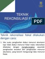 Materi 12 Teknik Rekonsiliasi Fiskal