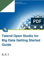 TalendOpenStudio BigData GettingStarted 6.4.1 En