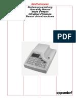 Biophotometer Manual (1)