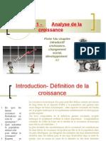 thème 1 chapitre introductif analyse de la croissance 2010 2011