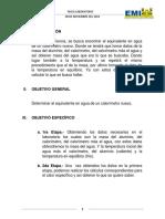 LABORATORIO FISICA CALORIMETRIA