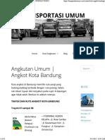 Angkutan Umum _ Angkot Kota Bandung – TRANSPORTASI UMUM