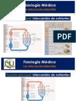 Clase 2 Fisiologia de La Microcirculacion