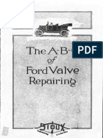 [FORD] Manual de Reparacion de Valvulas Ford T