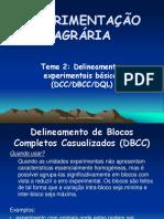 Aula 3 Delineamento Experimentais Dbcc
