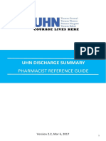 UHN DS Pharmacy Ref Guide v2.2