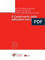 Censtimento Non Profit - Atti ISTAT