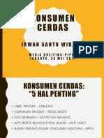 Bapak Irwan Widjaja_Konsumen Cerdas Kemanan Pangan-PIPIM by Irwan Widjaj...
