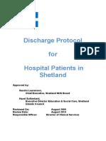 Discharge Protocol