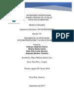 Socioantropologia y La Salud en Mexico