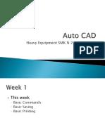 Auto CAD Introduction