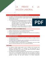 La Ética Frente a La Discriminación Laboral