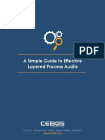 CEBOS QMS WHITEPAPER Guide to Effective Layered Process Audits