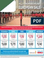 Singapore Airlines Europe_Press Ad - WA