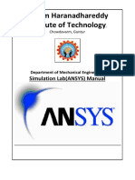 ANSYS Final Manual