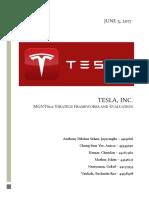Tesla Group Report