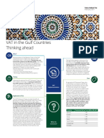 Deloitte VAT in the Gulf Countries Infographic