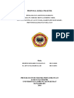Proposal Kerja Praktek Di Pt. Sebuku Iron Laterite Ores