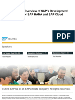 Overview of SAP's Development Platform for SAP HANA and SAP Cloud.pdf