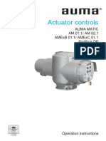 Profibus Aumamatic Manual
