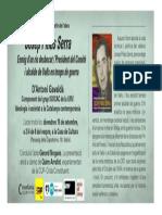 Invitació a la presentació de l'obra Josep Piñas Serra
