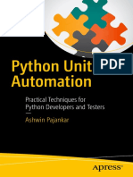 Python Unit Test Automation Practical Techniques for Python Developers and Testers