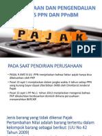 Perencanaan Dan Pengendalian Atas Ppn Dan Ppnbm