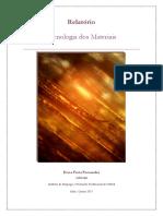 Relatório - Tecnologia Dos Materiais