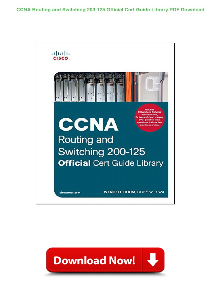 Ccna routing and switching 200 125 official cert guide library pdf ccna routing and switching 200 125 official cert guide library pdf download pdf cisco certifications 64 bit computing fandeluxe Images