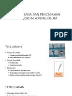 Tatalaksana Dan Pencegahan Moluskum Kontagiosum