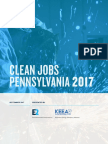 Clean Jobs Pennsylvania 2017