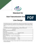 STNW3355 SubTran Overhead Line Design