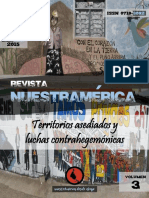"""Revista nuestrAmérica n° 5, volumen 3 """"Territorios asediados y luchas contrahegemónicas"""""""