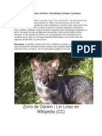 10 Animales Extintos en Chile