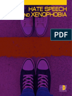 Hate speech and xenophobia. Media monitoring report 2014-2015