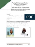 Ceramic Insulator and Waste Management