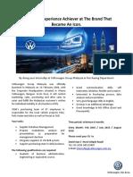 Volkswagen - Internship