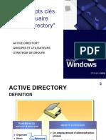 Les Concepts Cles de Windows AD