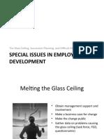 Issues in Employee Development