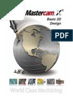 Basic 2D DesignTutorial_MasterCam_X5