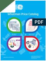 15 Whatman Pricelist 2014 INR