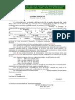 Contract Studii Master 16
