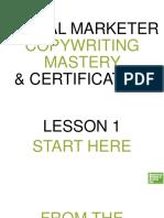 DM Copywriting Mastery MODULE 1