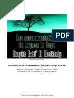 Annotations sur les recommdations de Loqman à son fils