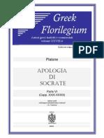 Platone - Apologia Di Socrate - Parte VI