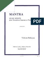 Vahram Babayan - Mantra