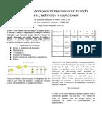 Relatório 2 Sistemas de Potência