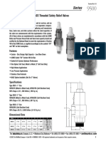 Wellmark Cemco Major Safety Relief Valves 9500