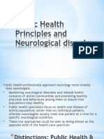 Public Health Aspect and Neurological Disorders